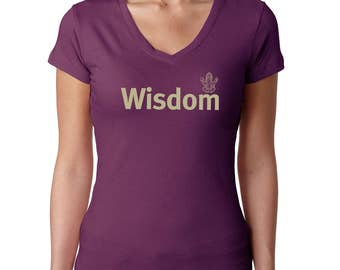 Yoga tshirt / Wisdom t-shirt / Women's t-shirt / tshirts with sayings / Women's tee | Women's t shirts | Gifts for Her /Mothers day Gift