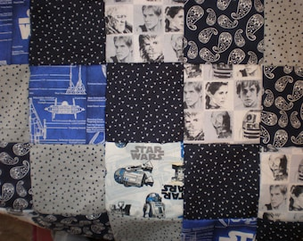 Star Wars Patchwork Quilt
