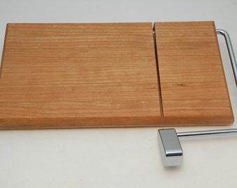 Handmade Cherry Cheese Slicer Cutting Board