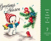 Custom Order - Christmas Postcards