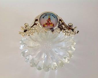 Walt Disney World Collectible Ashtray, Trinket Dish, Walt Disney World Souvenir