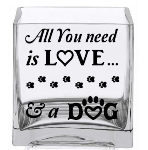 Download SVG - All you need is Love and a Dog - Digital cutting ...