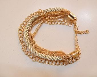 bling bling bracelet gold color