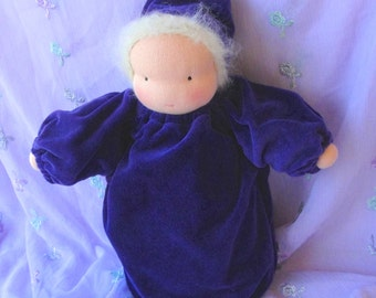 Cuddle doll // waldorf doll // waldorf toy // soft doll // baby doll