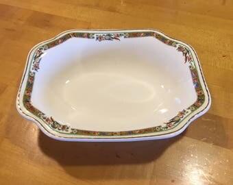 Vintage Steubenville Ivory serving bowl, 30s Steubenville, 40s Steubenville, vintage china, mcm serving platter, mcm china