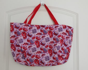 Red Hat Padded Tote Bag  CLEARANCE SALE