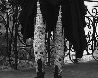 limited edition -  CATHEDRAL legging- womens bottoms - leggings - printed leggings