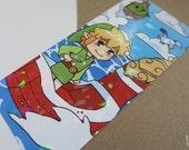 SALE zelda wind waker prism bookmark
