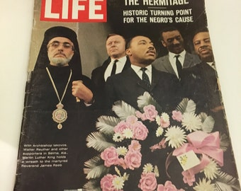 Life Magazine 1965 Martin Luther King Jr. The Hermitage