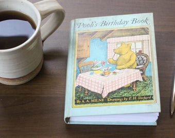 Pooh's Birthday Book Journal