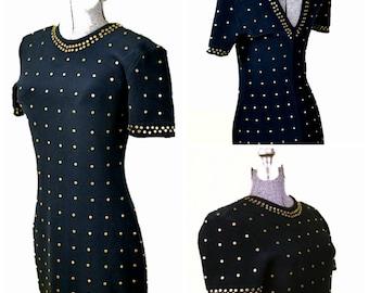 Tadashi Shoji Studded Bodycon Dress