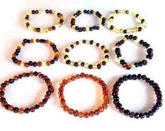 Baltic Amber Teething Bracelet, Top Selling Product