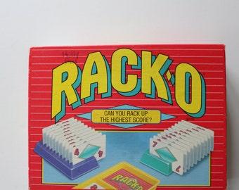 Vintage Parker Brothers Rack-O Game 1992