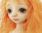 Reserved for Adele 3rd and last payment OOAK Porcelain BJD Art Doll