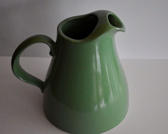 Old Pottery Water Jug Marked USA