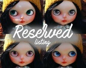 RESERVED listing for Mari final payment