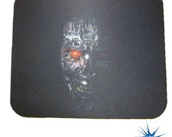 Terminator FACE Anti Slip PC Gamer Picture Mouse Pad