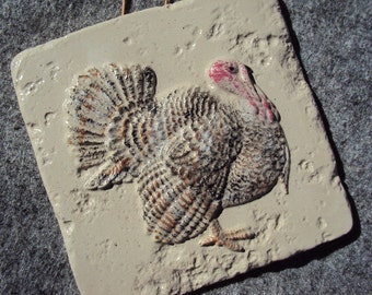 Turkey Wall Hanging, Handmade In Big Bear California, Shipping Included
