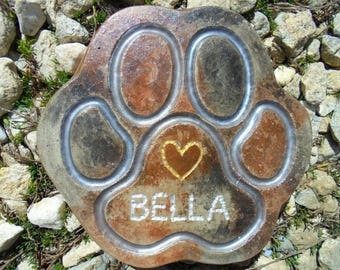 Dog Paw Stone, Cat Paw, Shipping Included