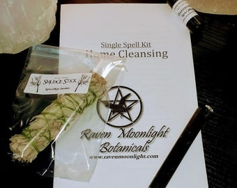 Home Cleansing Spell Kit