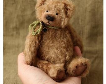 Bear Teddy Bear Busek 16 cm OOAK