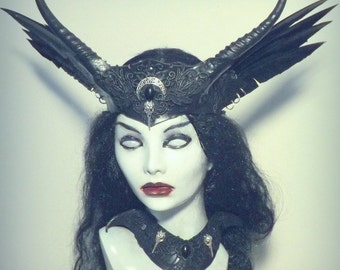 Raven Witch Crown & collar