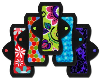 "Cloth Pads (8"" Moderate - Set of 5)"