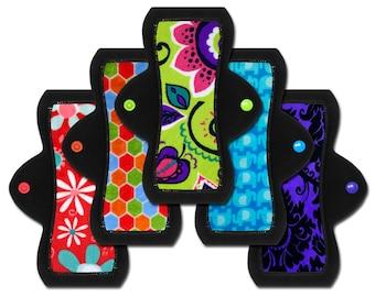 "Cloth Pads (8"" Moderate - Set of 5)"