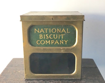 Antique National Biscuit Company Tin Box
