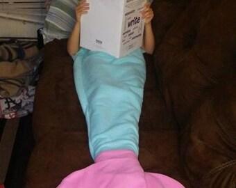 All Fleece Mermaid Tail Blankets