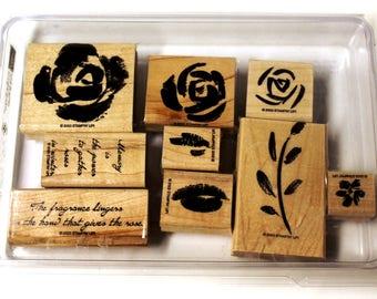 Roses in Winter Stampin' Up Stamp Set
