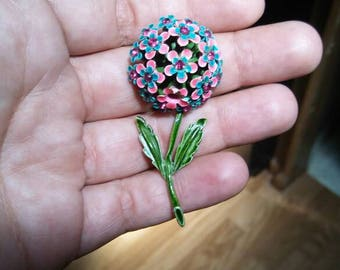 Bouquet of Flowers Pin