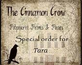 Special order for Tara