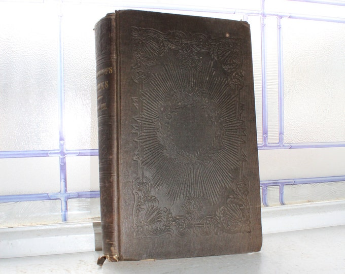 Antique 1843 Book Channing's Works Vol III