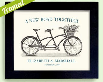 Unique Engagement Gift - Personalized Wedding Decor Art Print - Custom Wedding Wall Art - First Anniversary Print