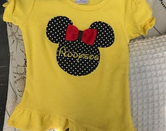 Best Price! Ships FAST! Many Colors! Mickey Matching Family Shirts Vacation Cruise Personalized