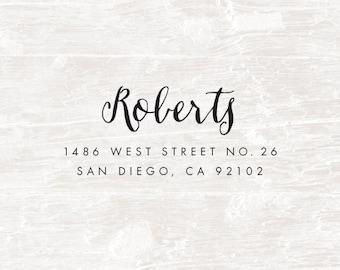 Self Inking Address Stamp, Custom Stamp, Custom Address Stamp, Custom Rubber Stamp, Personalized Self Inking Wedding Stationery Stamper