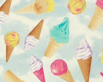 Timeless Treasures - Ice Cream Cones