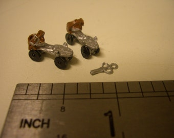 1:12th Roller Skates with Key for the Dolls House Nursery/Garden