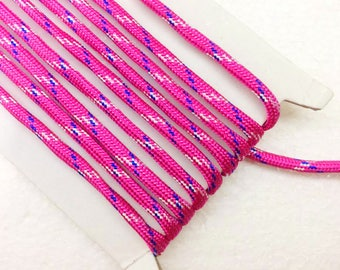 paracord 1.1 Yards (1 meter) Patterned  Bracelet cord, Decorative Cord, braided cords, Parachute  Cord, Colorful cord, 4mm wide