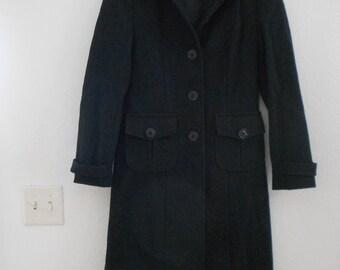 Vietnam custom made wool blend ladies coat.  Size 6-8.