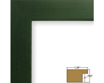 "Craig Frames, 16x20 Inch Green Picture Frame, Bauhaus 1.25"" Wide (260261620)"