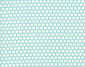 Bonnie and Camille - Basics - Bliss Dot in Aqua - 55023-32 - 1/2 Yard