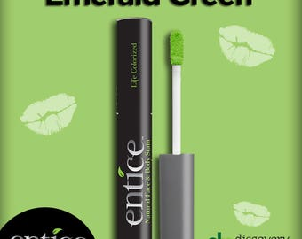 Entice Emerald Green Lip Stain
