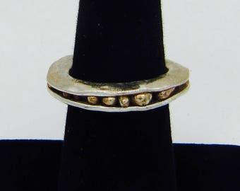 OOAK Handmade Sterling Silver Artisan Ring