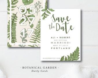 Botanical Garden Save the Dates