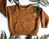 Toddler Hiking Sweater & Hat