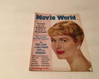 january 1961 movie world magazine