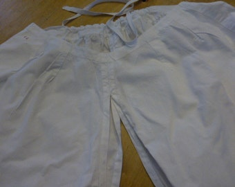 Crotchless, Bloomers Victorian,  Superb Condition, French circa 1860 -1880