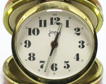 Travelling Alarm Clock - Japy - French Clock - Alarm Clock, French Alarm Clock, French Travelling Alarm Clock, Japy Alarm Clock, French Japy